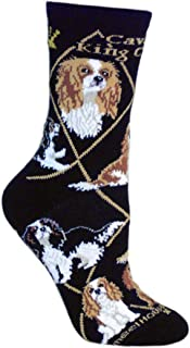 Cavalier King Charles Spaniel Puppy Dog Breed Animal Socks Made in USA