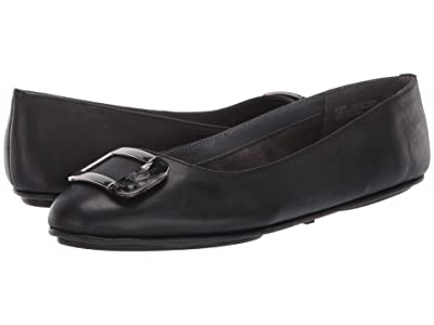 Aerosoles Sensational (Black Leather) Women