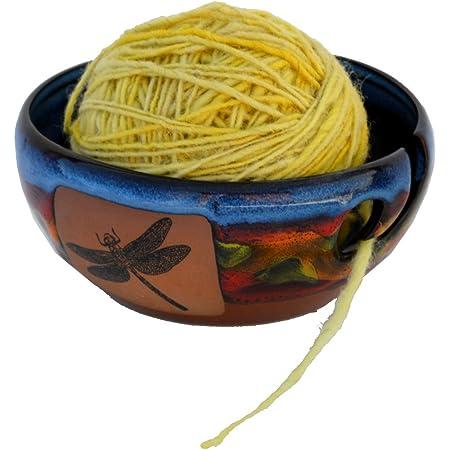 Yarn Bowl in Azulscape Glaze