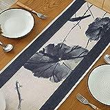 SGZBY Leinen minimalistische Tischfahne Tee FahneTischartikel Tee Tischfahne Tischset Esstisch Tischfahne