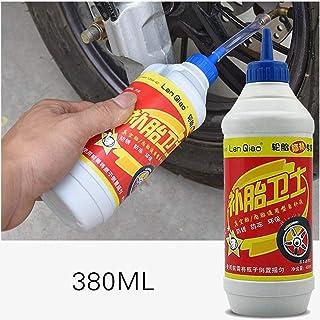 380ML Líquido para Llantas Neumático Autohidratación Moto Sellador de Llantas Protección de la máquina Sellador de pinchazos Líquido de reparación de Llantas de Bicicleta