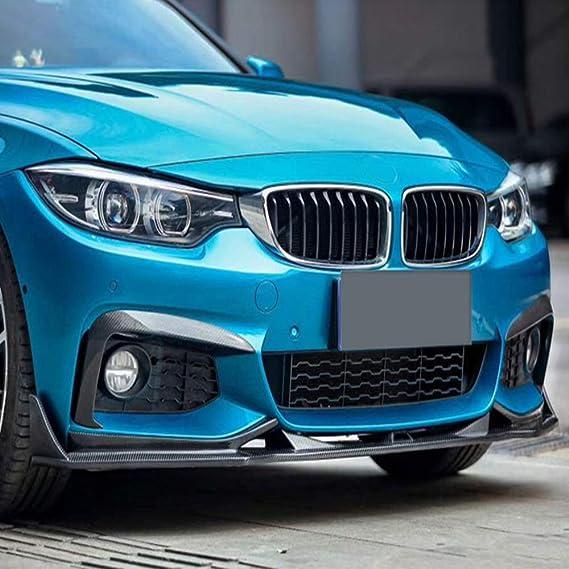 JS BMW 4/' serie F32 F33 F36 Sport-Line Parachoques Delantero Centro Rejilla Negro Trim