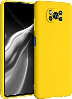 kwmobile telefoonhoesje compatibel met Xiaomi Poco X3 NFC/Poco X3 Pro - Hoesje voor smartphone - Back cover in levendig geel