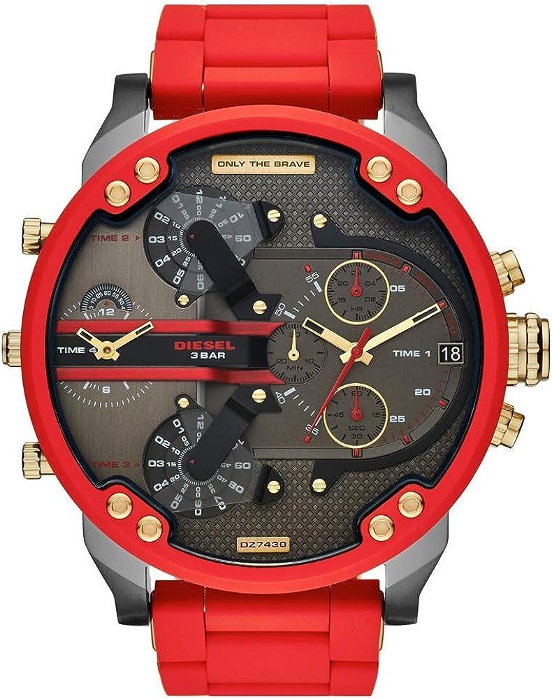 Diesel dz7430 orologio da uomo in acciaio inossidabile