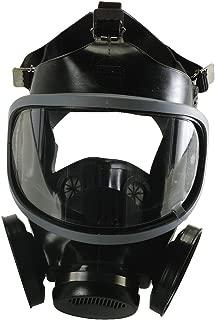 MSA 471286 Hycar Rubber Ultra-Twin Full-Facepiece Respirator, Medium