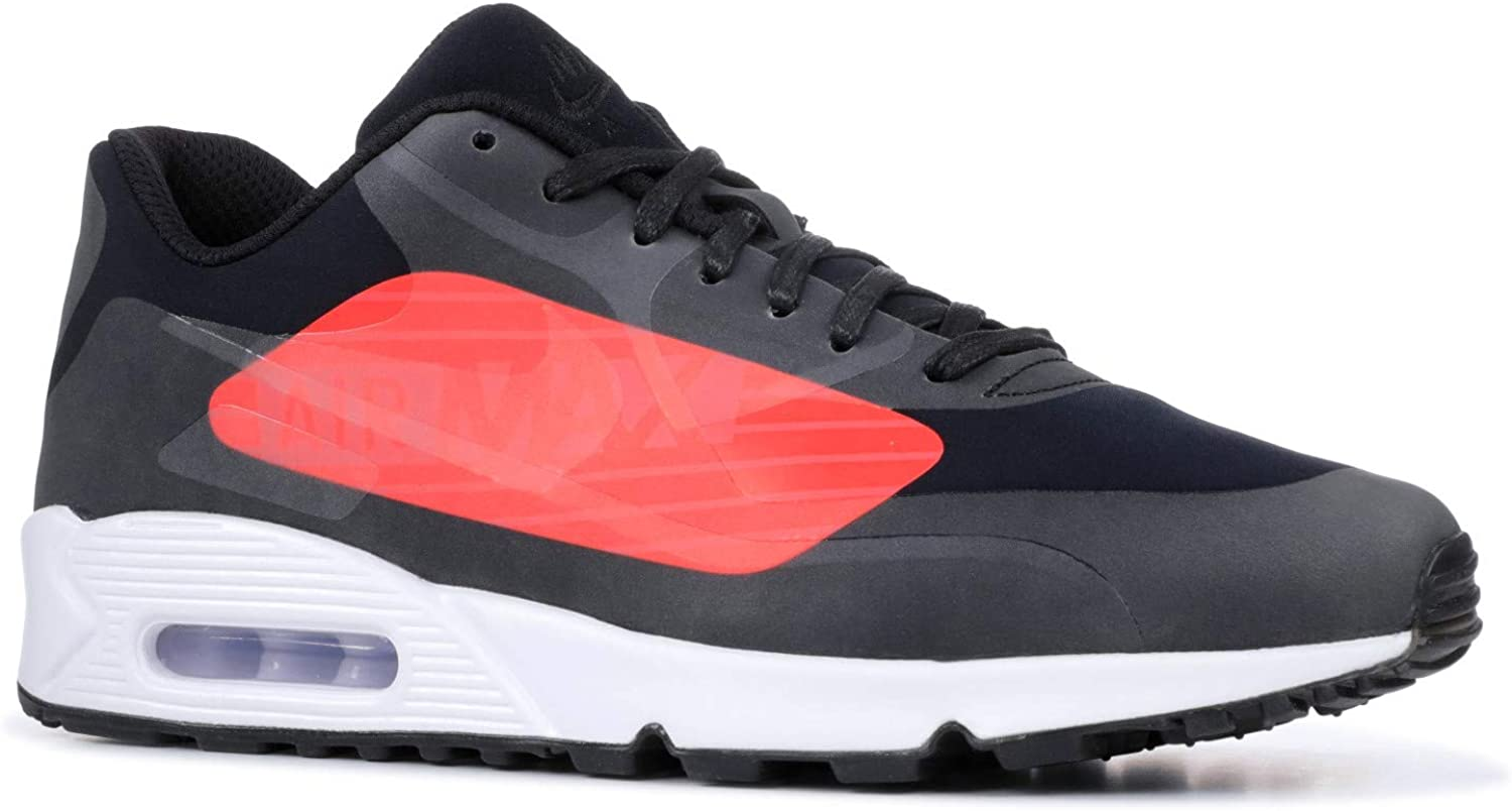 Nike Air Max 90 NS GPX Big Logo Men's Sneaker (10.5 D(M) US) Black Bright Crimson