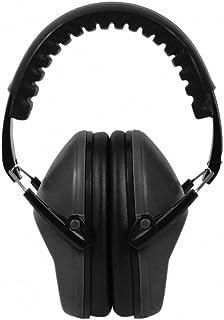Earest EP-12 防音イヤーマフ   子供&大人兼用 ANSI S3.19認証済み 収納ポケット付き 折りたたみ型(黒)