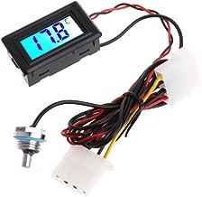 JENOR Termómetro digital medidor de temperatura G1/4 para computadora de refrigeración de agua