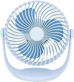 SHANGRUIYUAN-Mini Fan Mini USB Deskto Multifunction Fan with 360 Rotation Adjustable Angle for Office Household Personal Cooling Fan (Color : Blue)