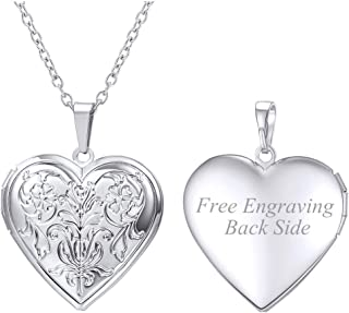 Best engravable heart lockets Reviews