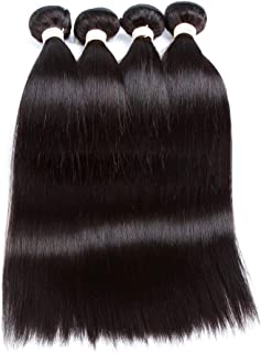 Wig Body Wave Full Lace Real Hair Wig Soft Smooth Lace Wig,Hairpieces (Color : Black, Size : 20inch)