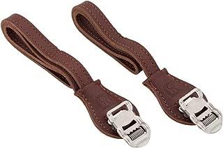 Velo Orange Grand Cru Leather Toe Straps: Brown