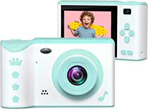 $33 » Kids Camera, ieGeek Kids Digital Camera, 2.8 Inches Front and Rear Dual Camera 8.0MP, 1080P HD Camera for Kids, USB Rechargeable with 32GB SD Card Storage Kids Gift for 3-12 Years Old Boys and Girls