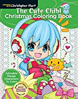The Cute Chibi Christmas Coloring Book: Adorable Manga Characters to Color