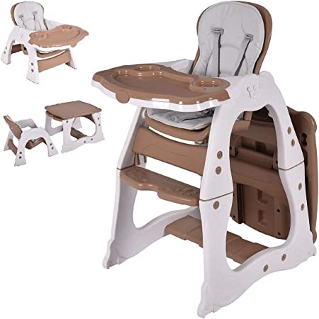 3primarily 1 2 seat heights furniture baby personalized inscription Scalable Montessori cube or wooden high chair table
