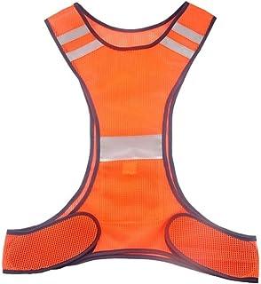 Safety vest Reflective Clothing New Upgrade Safety Vest Work Clothes Pocket Night Running Riding Reflective Vest Reflectiv...