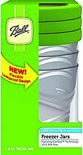 Ball Plastic Freezer Jar 8oz (3-Pack of 3)