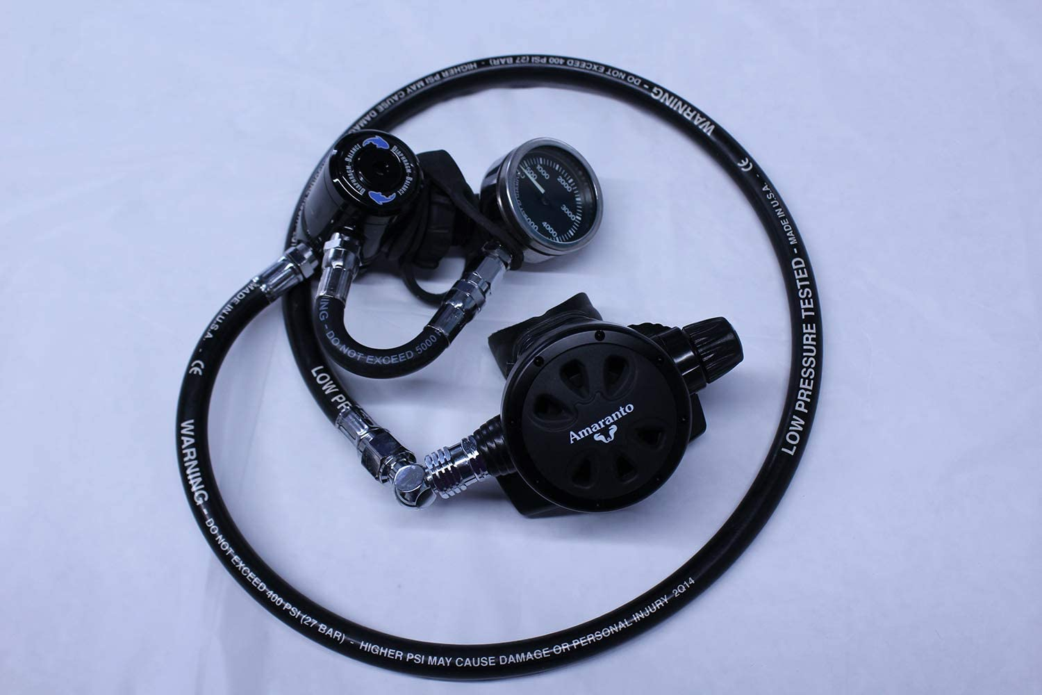 Amaranto Today's only Deluxe Large special price DIN Balanced Regulator Diving Scuba Adjustable 2