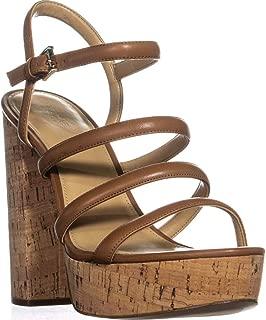 Michael Michael Kors Nantucket Platform Sandals, Acorn, 10 US / 41 EU