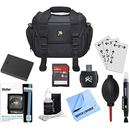 Micro Fiber Cloth Card Wallet Lens Cleaning Kit /& Pen Canon EOS 6D 5D 5DS 70D 60D 7D MARK III II DSLR SLR Deluxe Carrying Case Professional Blower LP-E6 Battery Kit 16GB SD Card /& USB 2.0 Reader