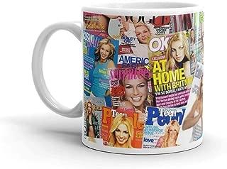 Britney Spears Mug 11 Oz White Ceramic