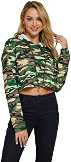 Best crop top workout hoodie Reviews