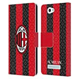Official AC Milan Home 2020/21 Crest Kit Leather Book