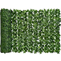 cheap DearHouse Fake Ivy Screen, 94.5 x 59 inch Fake Hedge Fence and Fake Ivy…