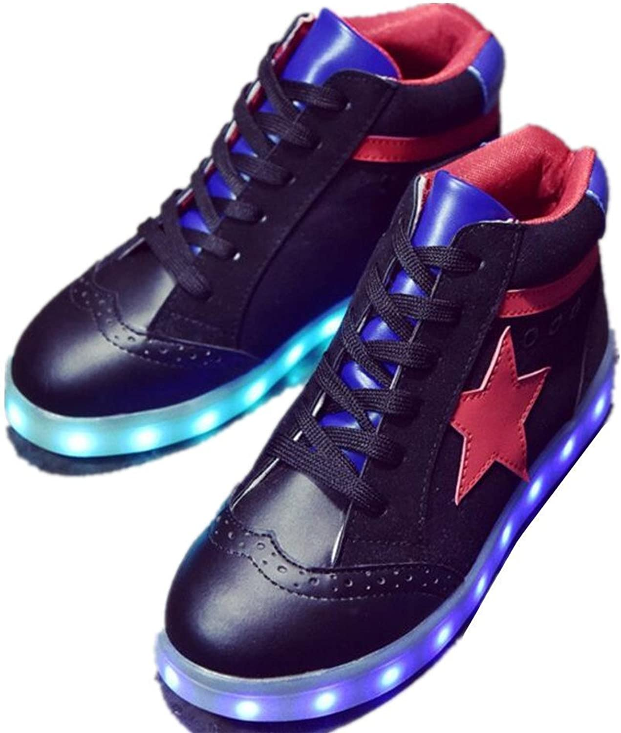 Jedi fight back LED Light Up shoes High Top Sneakers for Womens Mens for Christmas Halloween