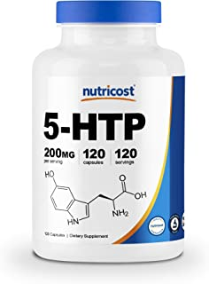 Sponsored Ad - Nutricost 5-HTP 200mg, 120 Veggie Capsules (5-Hydroxytryptophan) - Gluten Free & Non-GMO