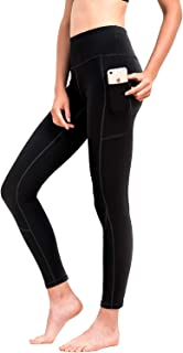 HOFI High Waist Yoga Pants for Women Side & Inner Pockets with Tummy Control Sports Leggings