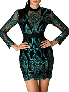 Amazon.com  Geometric - Club   Night Out   Dresses  Clothing 21b150f282dd