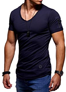 neveraway Men's Muscle Gym Workout Tops Bodybuilding Fitness T-Shirts Fashion