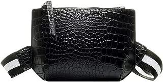 chinatera Crossbody Bags for Women, PU Leather Waterproof Tote Purse Handbag Stone Pattern Shoulder Messenger Handbags