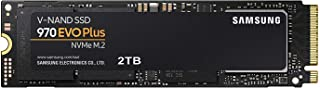 Samsung 970 EVO Plus Series - 2TB PCIe NVMe - M.2 Internal SSD (MZ-V7S2T0BW)