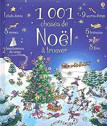 Livres Noël 1001 choses de Noël à trouver