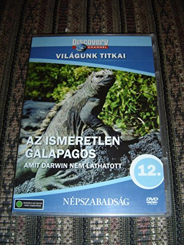 Discovery Channel The Unknown Galapagos - Beyond Darwin / What Darwin Could Not See / Az ismeretlen Galapagos / World Secret Series 12 / ENGLISH & Hungarian Sound Options [European DVD Region 2 PAL]