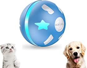 PetDroid Interactive Dog/Cats Ball Toys,Durable Motion Activated Automatic Rolling Ball Toys for Puppy/Small/Medium Dogs,U...