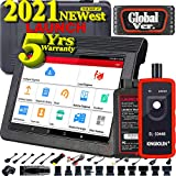 LAUNCH X431 V PRO(Same Function as X431 V+) Bi-Directional Scan Tool Full System,Key Program,Active test,Ecu Online Coding, AutoAuth for FCA SGW,30+ Reset, Free Update,Full Connector Kit- EL50448 Tool