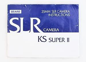 SEARS KS SUPER II 35MM SLR CAMERA MANUAL