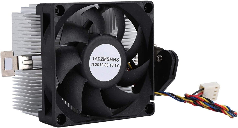 Cuifati Enfriador de CPU 12V Rodamiento hidráulico tamaño pequeño para AM2 AM3 AM3 + FM1 FM2 FM2 +
