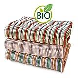 Sonnenstrick, weiche Strickdecke für Kinder, 100% Bio-Baumwolle, hergestellt in Deutschland 80 x 80 cm Rosa (rosa)