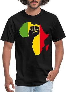 African Black Power Fist Men's T-Shirt