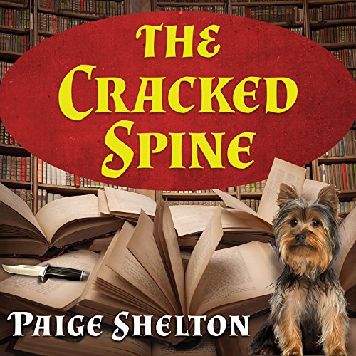 The Cracked Spine     Scottish Bookshop Mystery, Book 1              Written by:                                                                                                                                 Paige Shelton                               Narrated by:                                                                                                                                 Carrington MacDuffie                      Length: 7 hrs and 56 mins     3 ratings     Overall 3.7