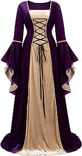 cotton medieval dress