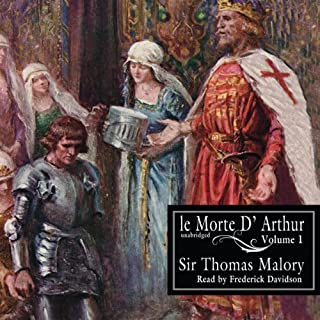 Le Morte D'Arthur audiobook cover art