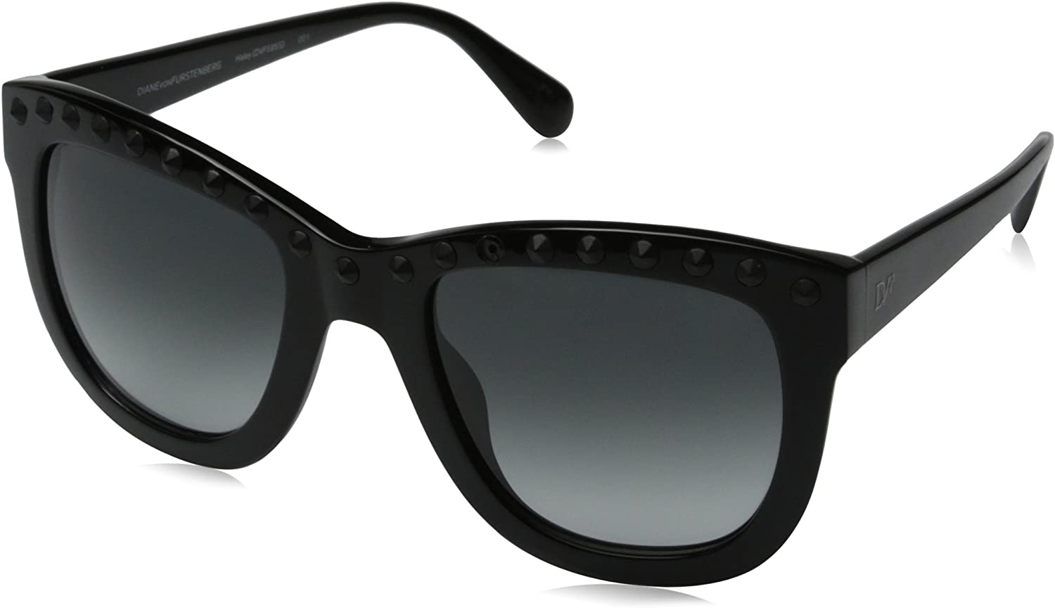 Diane von Furstenberg Women's Haley Square Sunglasses