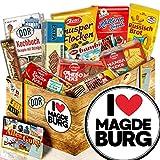 Geschenkbox mit Keksen / DDR Set / I love Magdeburg / Magdeburg Geschenk Paar