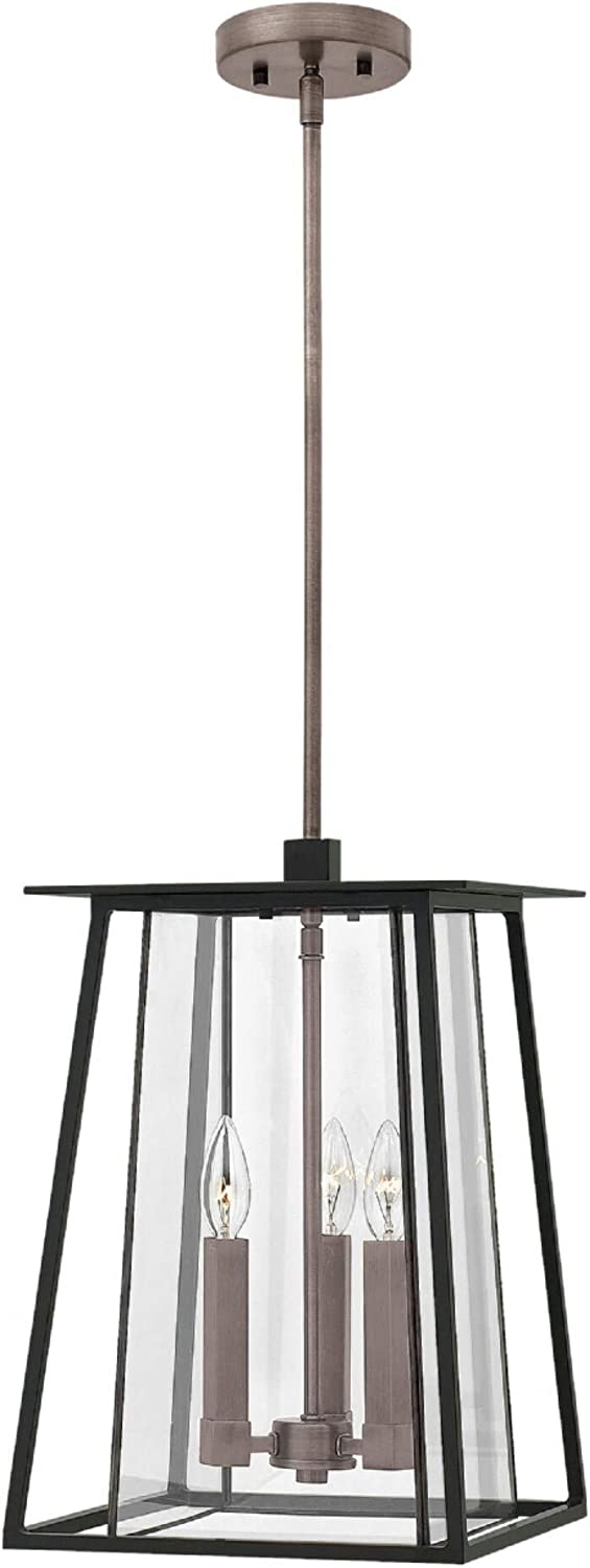 3-Light Outdoor Excellence Pendant in Popular shop is the lowest price challenge Black
