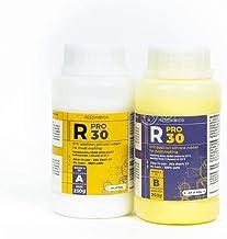 R PRO 30 - Siliconen vloeibaar, siliconen rubber dupliceersiliconen, Afvormmassa, and siliconenrubber 1:1 (2 Kg)